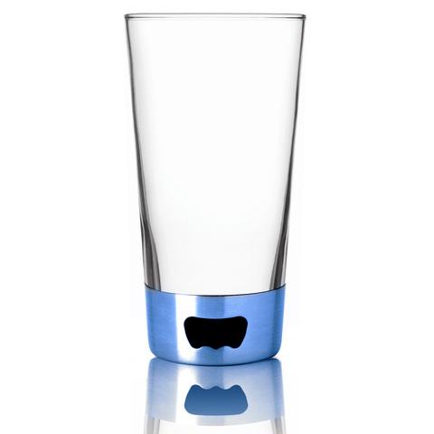 Бокал Asobu Pint glassopener (0,48 литра), голубой