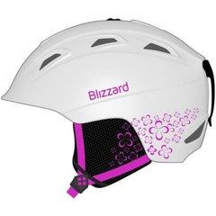 Горнолыжный шлем Blizzard Viva Demon white matt/magenta flowers