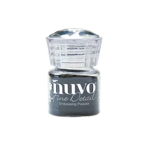 Пудра для эмбоссинга NUVO - jet black