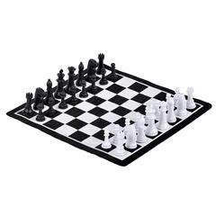 Шахматы и «уголки» магнитные, в тубе набор 2 в 1