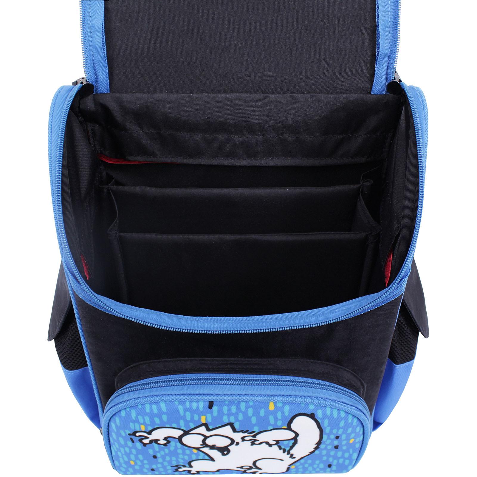 Рюкзак школьный каркасный Bagland Успех 12 л. Черный 362 (00551702) фото 4