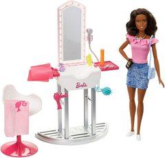 Кукла Барби и Салон красоты Брюнетка