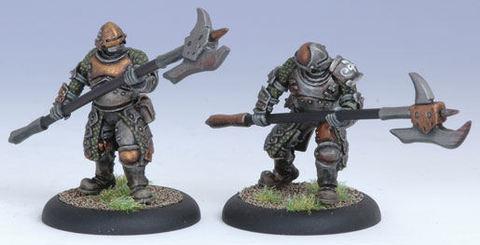 Mercenary Steelhead halberdiers (2) BLI