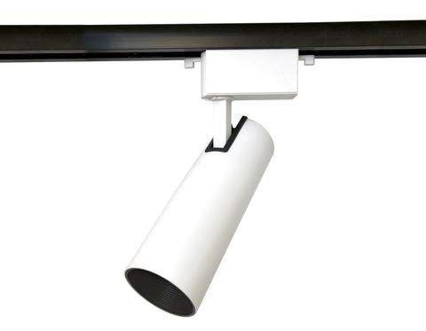 Трековый однофазный светодиодный светильник GL5852 WH/BK белый/черный LED 20W 4200K 24°
