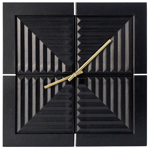 Часы «Вечность». Цвет черный