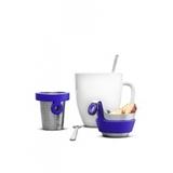 Чайный товарищ Brabantia - Matt Steel/Lavender (матовая сталь/фиолетовый), артикул 621123, производитель - Brabantia, фото 2