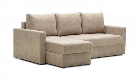 Угловой диван-еврокнижка Мекс 150, комплектация 3, бежевый