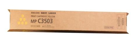 Картридж Ricoh Print Cartridge Type MPC3503 841818 желтый