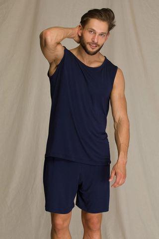 Пижама мужская с шортами из бамбука KEY MNS 001 A21