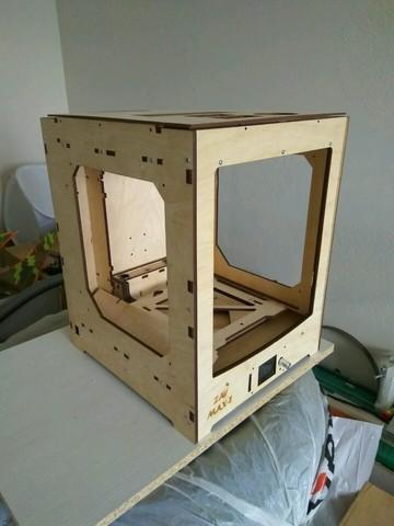 3D-принтер ZAV MAX T фанерный корпус