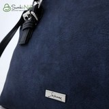 Сумка Саломея 457 сфинкс синий + черный