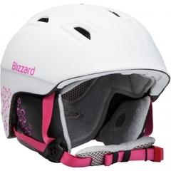 Горнолыжный шлем Blizzard Viva Demon white matt/magenta flowers - 2