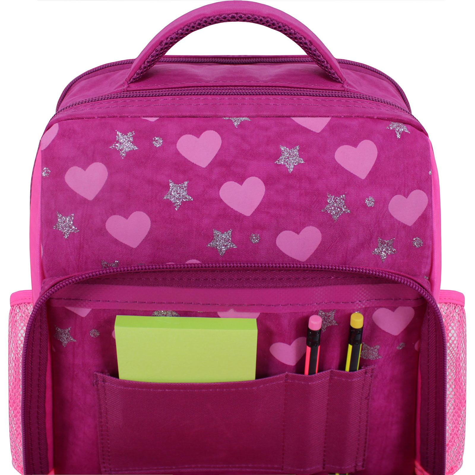 Рюкзак школьный Bagland Школьник 8 л. 143 малиновый 504 (0012870) фото 4