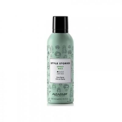 Alfaparf Milano Style Stories: Спрей-воск для волос (Spray Wax), 200мл