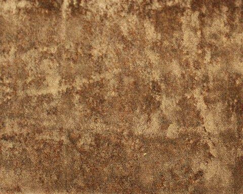 Портьерная ткань Солярис бархат однотонный коричневый
