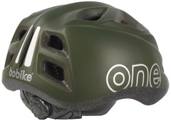 Велошлем детский Bobike One Plus Olive Green - 2