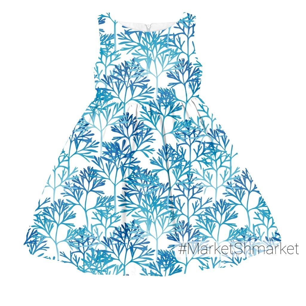 Голубые листья