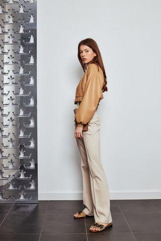 Dorothee Schumacher Куртка короткая с акцентом на талию