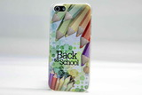 Чехол Back to school для iPhone 5, 5s, SE (№2)