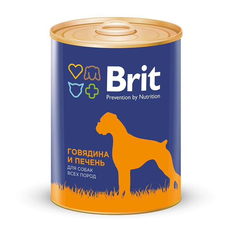 Brit Premium Консервы для собак, Brit Premium, с говядиной и печенью 72c723b6751ddc8df33e3cb964d11e64.jpg