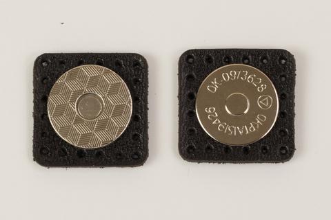 Застежка магнитная на кожаной основе