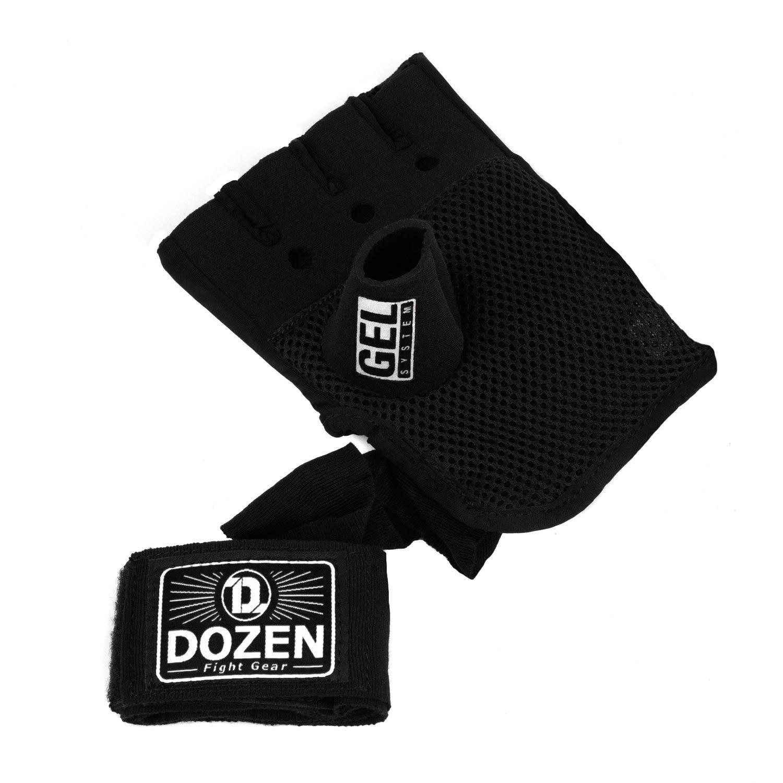 Быстрые бинты черно-белые Dozen Pro Gel-Air Inner дополнительный бинт