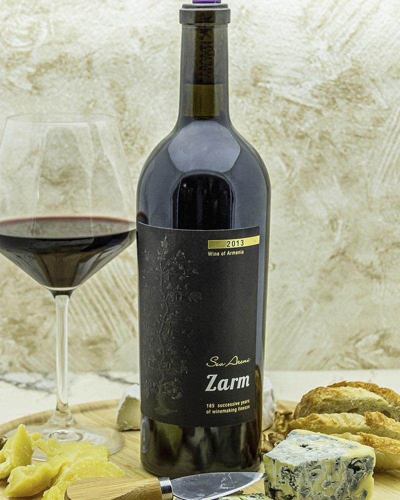 Вино Maran Winery Зарм Красное сухое 2013 г.у. 16% 0,75 л.