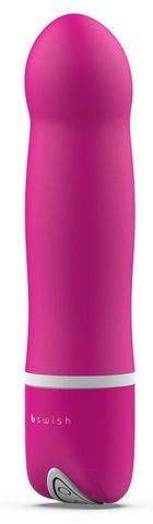 Розовый мини-вибратор Bdesired Deluxe - 15,3 см.