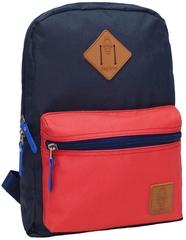Рюкзак Bagland Молодежный mini 8 л. Синий/красный (0050866)