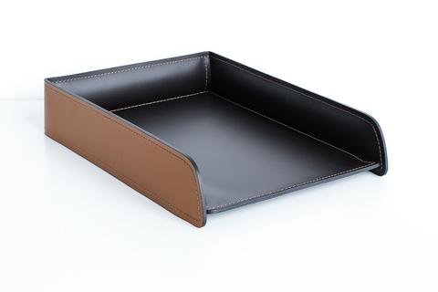 Лоток А4 горизонтальный  БИЗНЕС Табак / шоколад