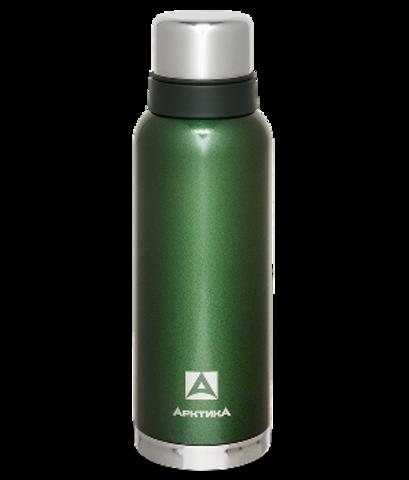 Термос Арктика (106-1200 зелёный) 1,2 литра с узким горлом американский дизайн, зелёный*