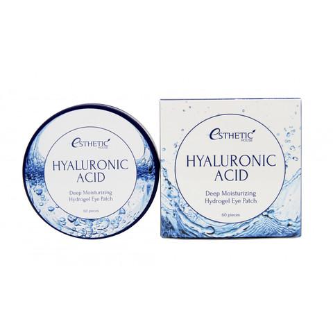 Esthetic House Гидрогелевые патчи с гиалуроновой кислотой Hyaluronic Acid Hydrogel Eye Patch, 60 шт