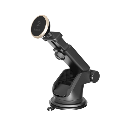 Baseus / Автомобильный держатель Magnetic Telescopic Car Mount серебро