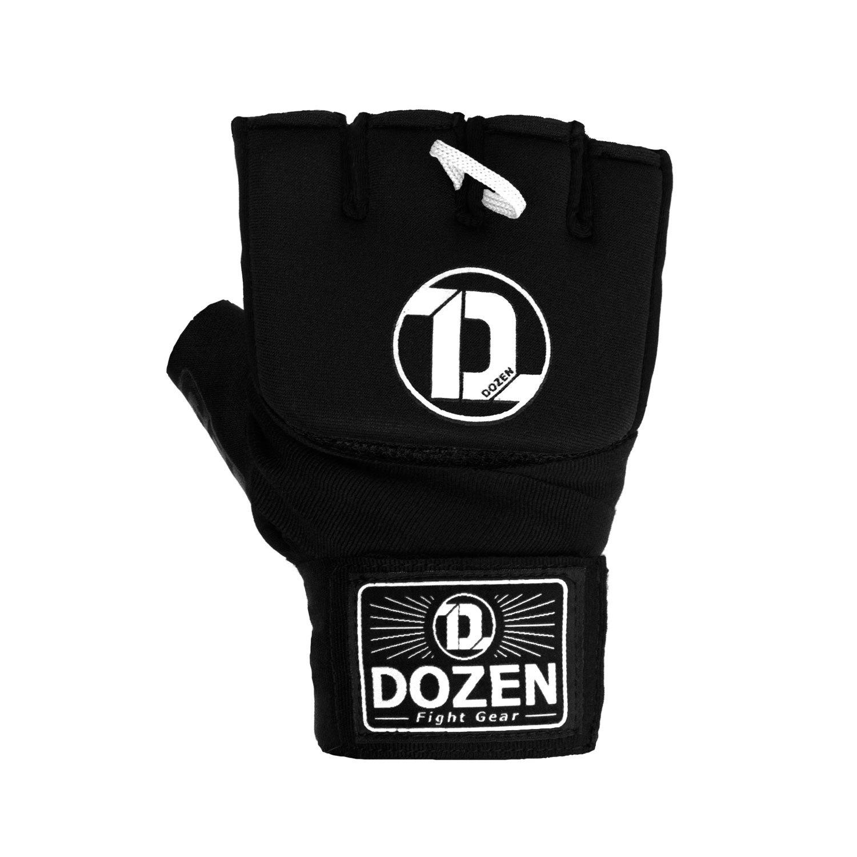 Быстрые бинты черно-белые Dozen Pro Gel-Air Inner спереди