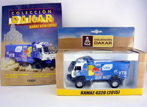 KAMAZ-4326 #507 Rally Dakar 2015 Coleccion Chile 1:43