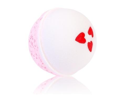 Гейзер макси-шар Люблю для ванн с морской солью и маслами, d 9см,280±15гр. TMChocoLatte