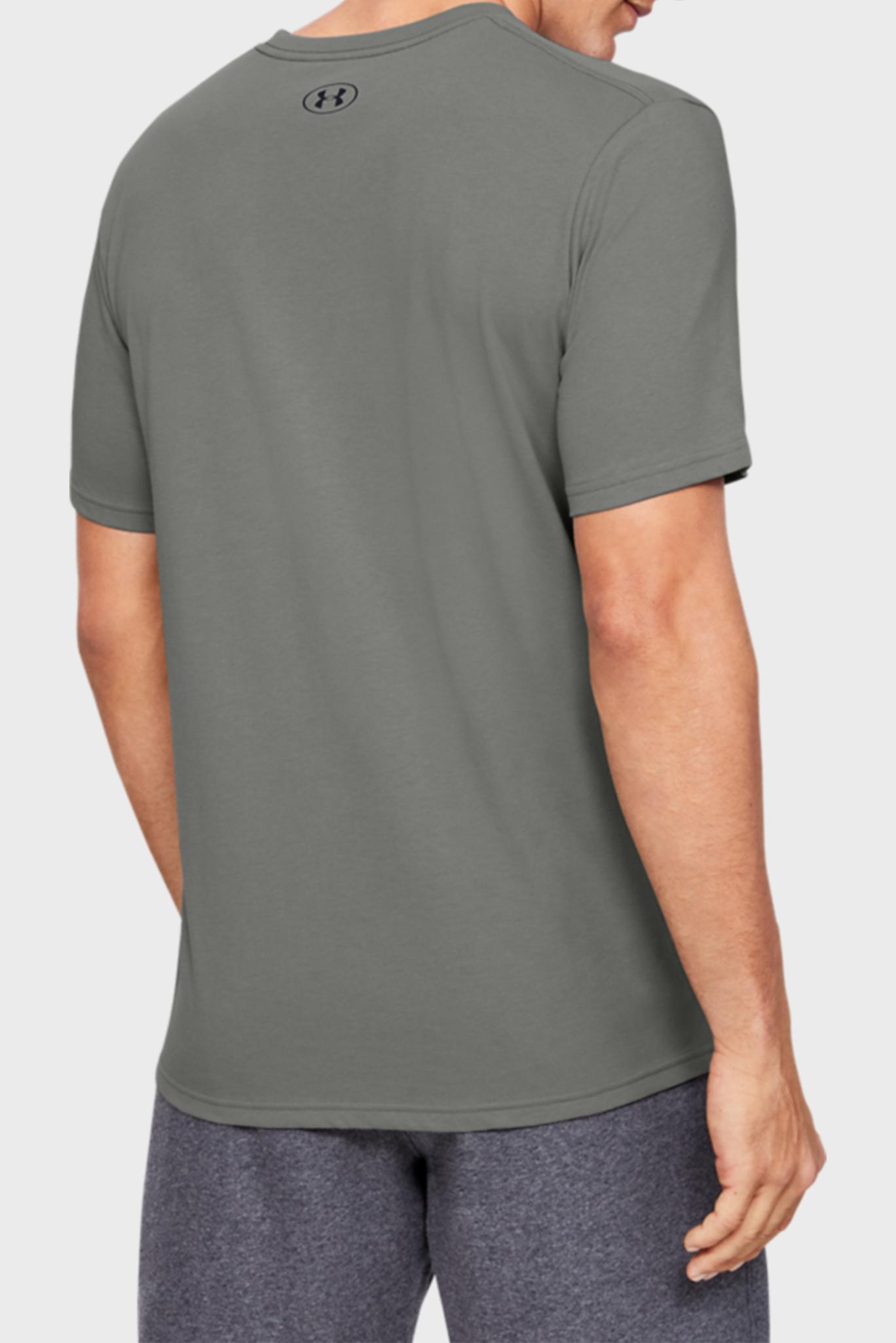 Мужская зеленая спортивная футболка UA ORIGINATORS CENTER SS Under Armour