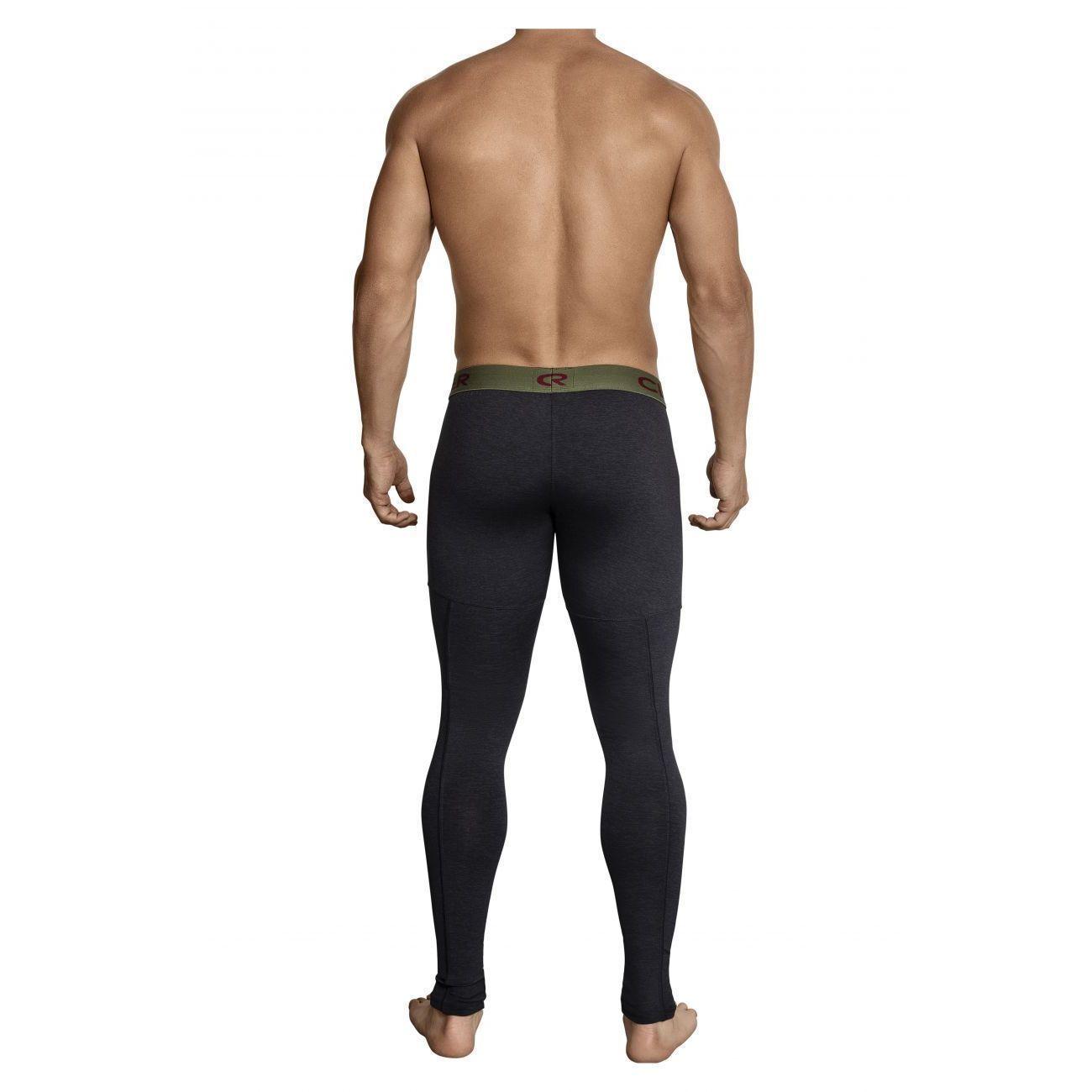 Мужские кальсоны темно-серые Clever Gordiano Long Pant 031411
