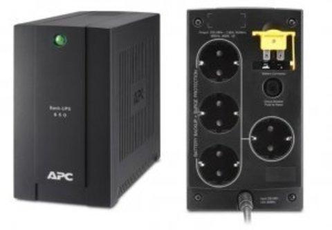 Источник бесперебойного питания BC650-RSX761 APC Back-UPS 650 ВА