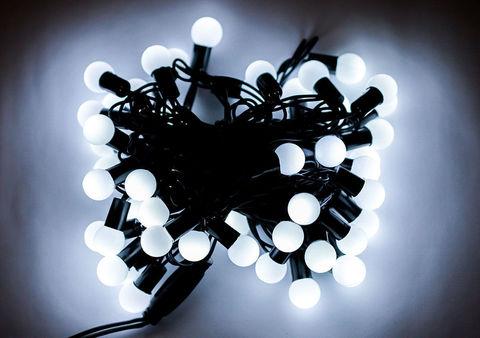 Гирлянда шарики string нить 10 м led