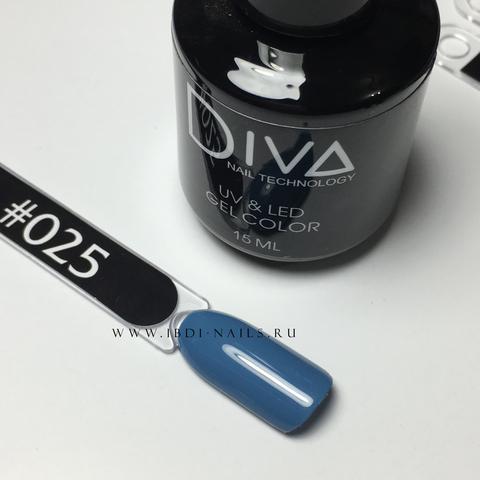 Гель-лак DIVA 025 15мл