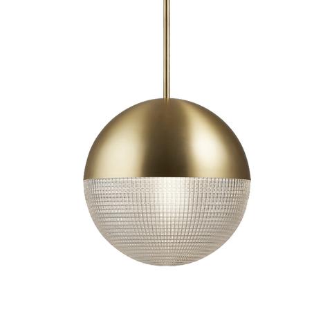 Подвесной светильник копия LENS FLAIR by Lee Broom (золотой)