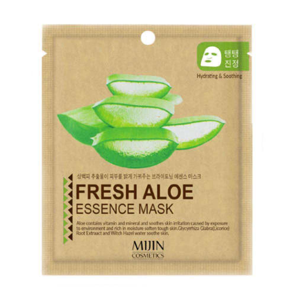 Тканевые Маска тканевая для лица алое MIJIN  FRESH ALOE ESSENCE MASK 25гр Маска_тканевая_для_лица_алое_MIJIN__FRESH_ALOE_ESSENCE_MASK_25гр1.jpg