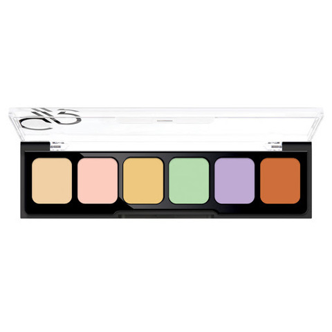 Golden Rose CORRECT&CONCEAL CAMOUFLAGE CREAM PALETTE