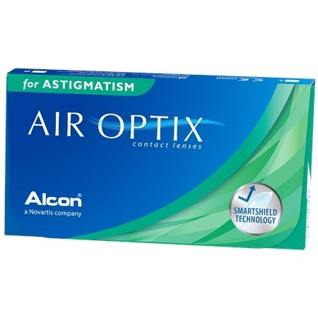Air Optix for astigmatism CYL -1,25 AXIS 10