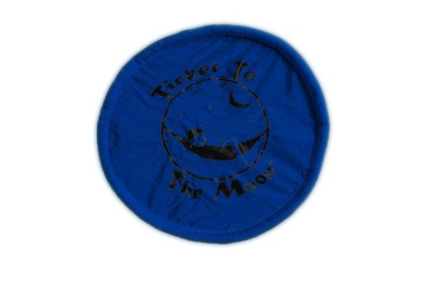 Картинка фризби Ticket to the Moon Pocket Frisbee Blue - 1