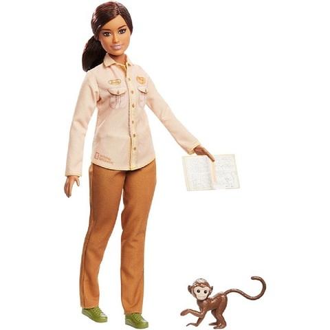 Барби Кем Быть Защитница Дикой Природы Брюнетка