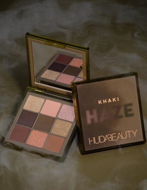 HUDA BEAUTY Obsessions Haze Khaki палетка теней
