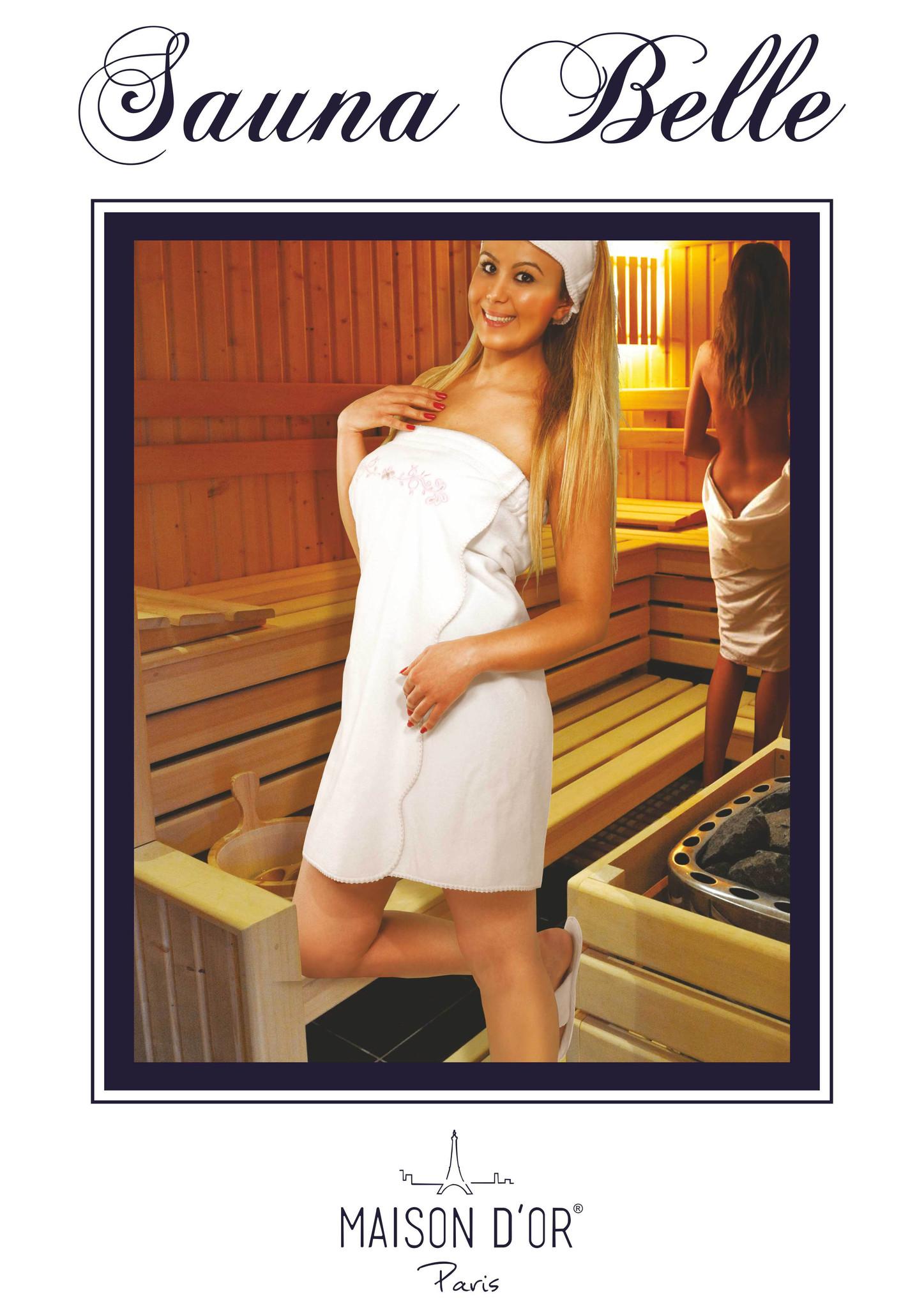 Наборы для Сауны BELLE - БЕЛЛЕ набор женский для сауны / Maison Dor(Турция) Sauna_Belle-K.jpg