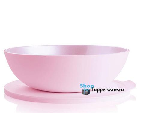 Чаша Аллегро 1,5л в розовом цвете